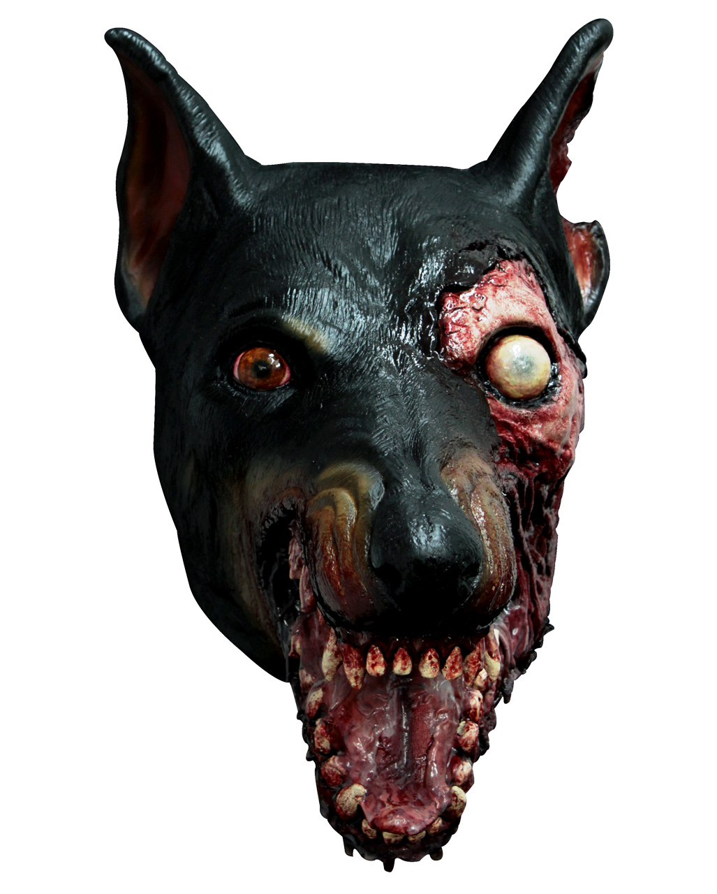 resident evil zombie dog mask with license | horror-shop