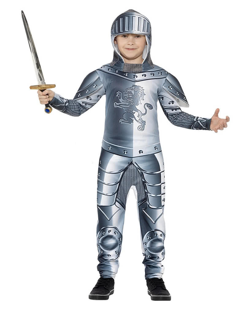Knight in Armor Costume for Kids ...  sc 1 st  Horror-Shop.com : kids armour costume  - Germanpascual.Com
