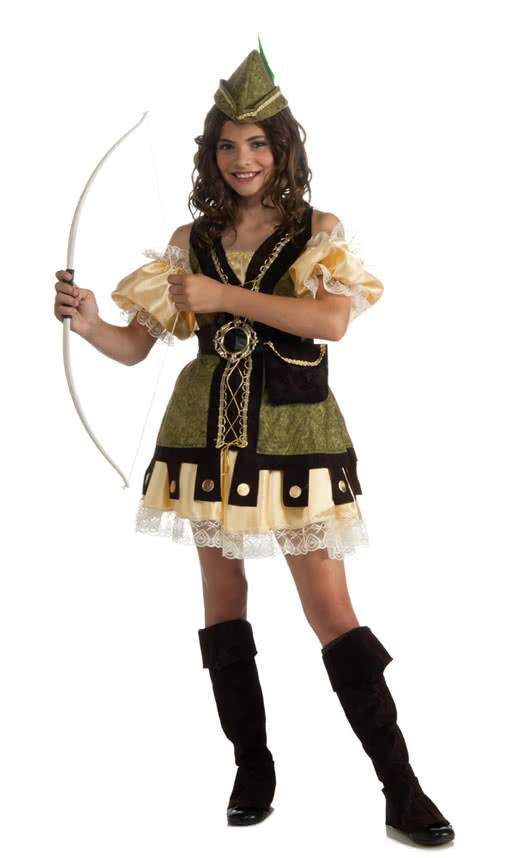 Robin Hood Girl Costume | Become an Avenger of the Poor | horror-shop.com  sc 1 st  Horror-Shop.com & Robin Hood Girl Costume | Become an Avenger of the Poor | horror ...