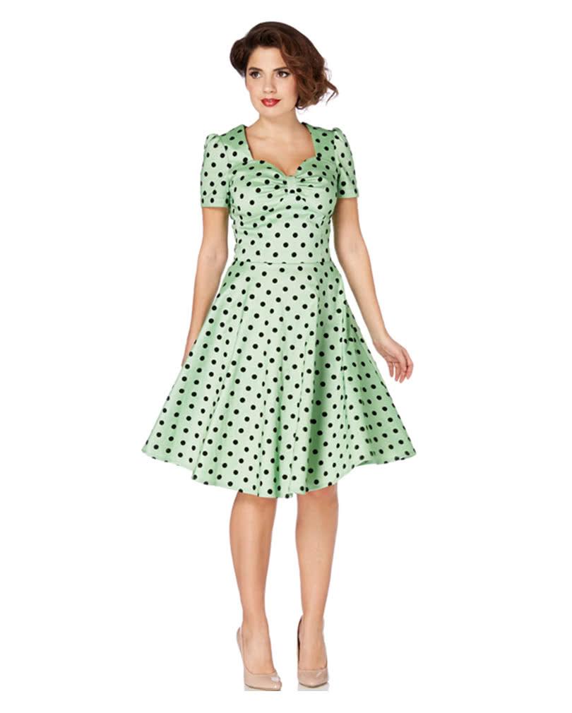 50er Jahre Polka Dot Kleid | Pinup Kleid | Horror-Shop.com