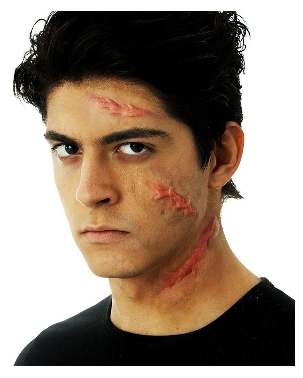 acid scars set | halloween & horror wounds | horror-shop
