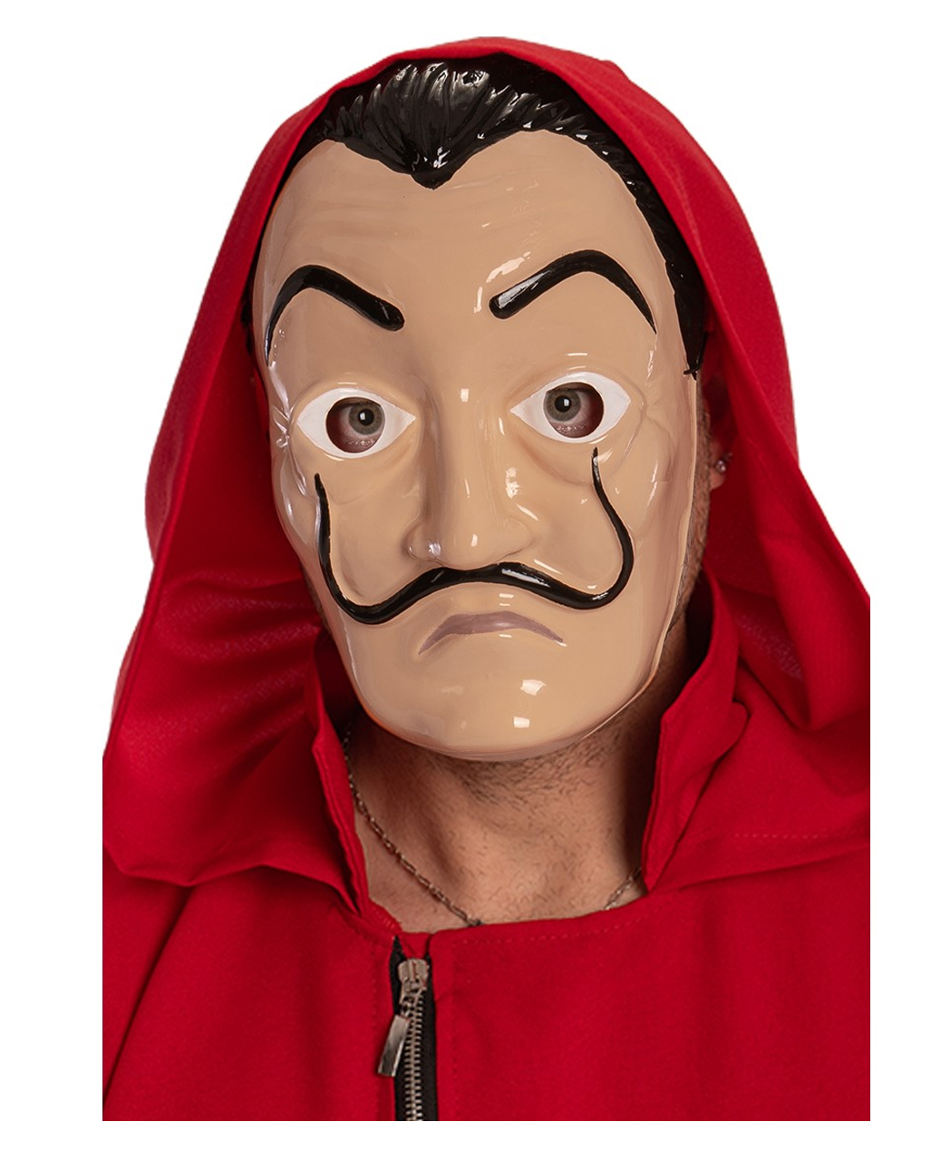 salvador dali mask money heist mask for halloween