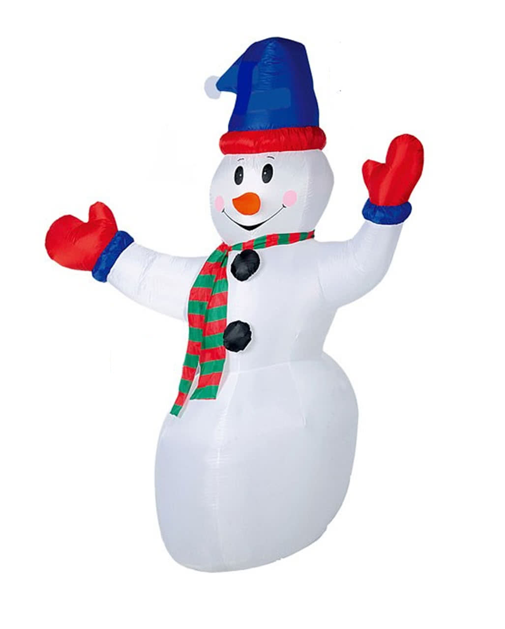 Snowman with LED 240cm inflatable for Christmas | horror-shop.com