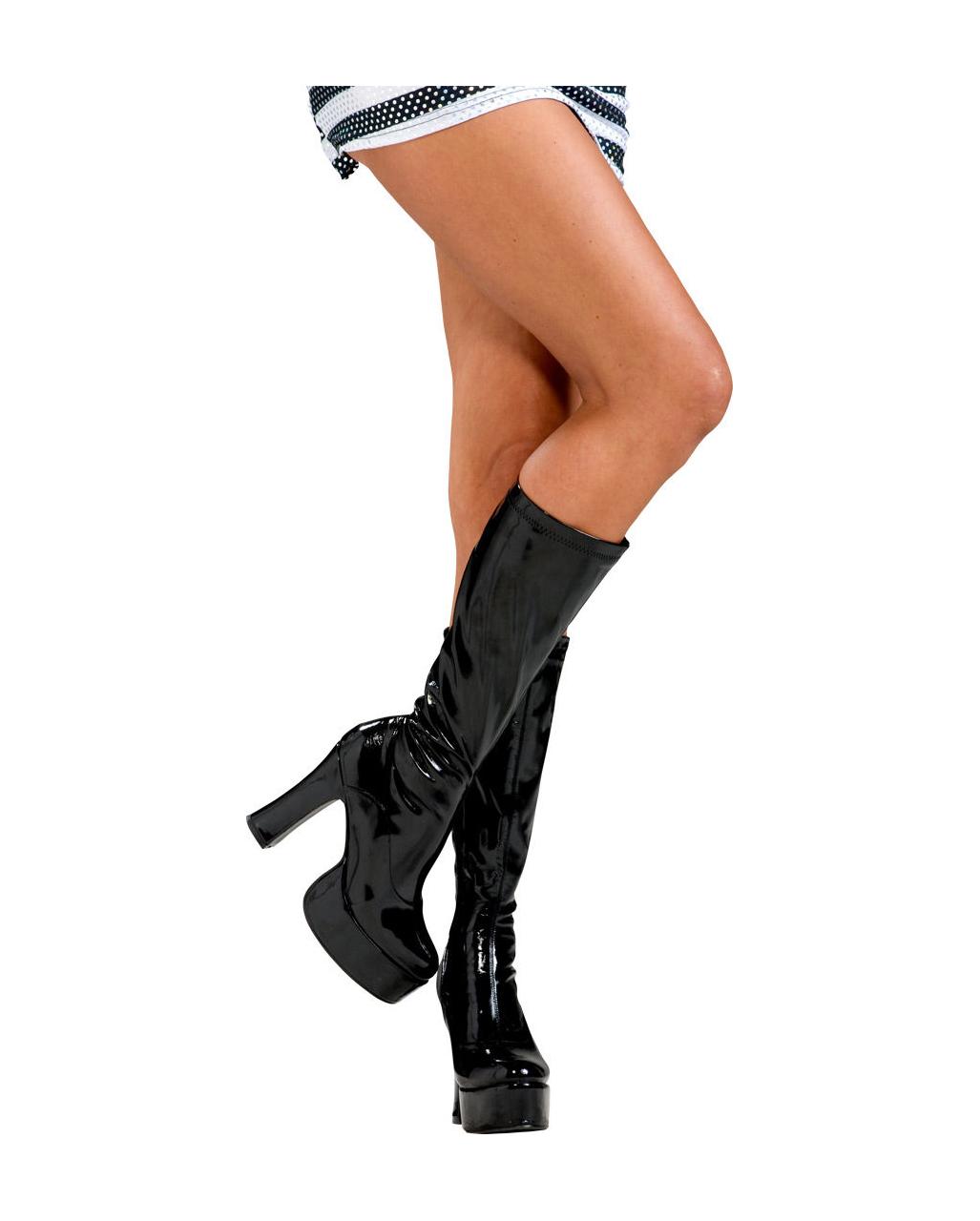 da51577a3fa Black platform boots L