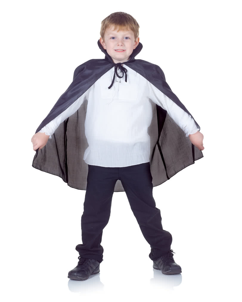 Black Vampire Cape For Kids Vampire Caper Kids Horror Shop Com