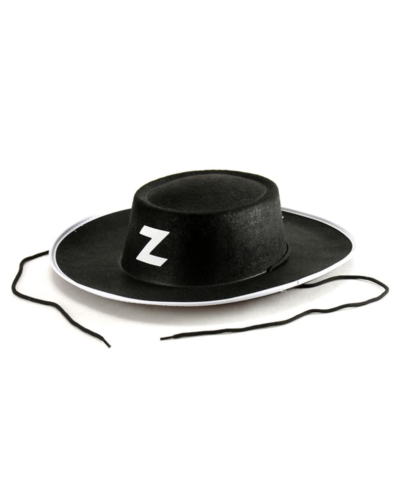 Black Zorro Hat Cowboy hat made of black felt  224b2d222f2