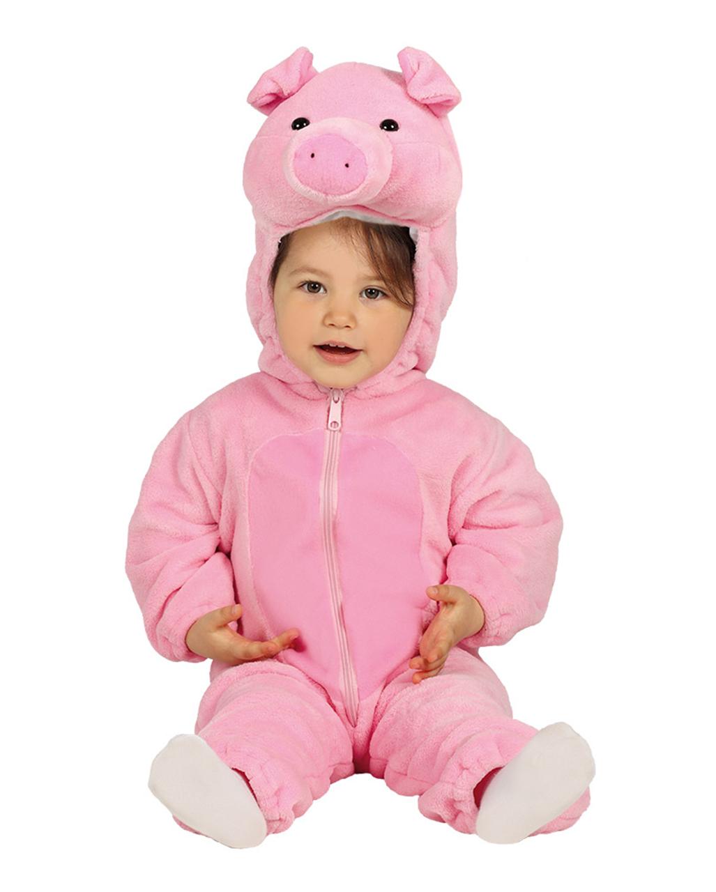 Kostum Schwein Kinder Schweinchen Piggy Ferkel Weste Cosplay