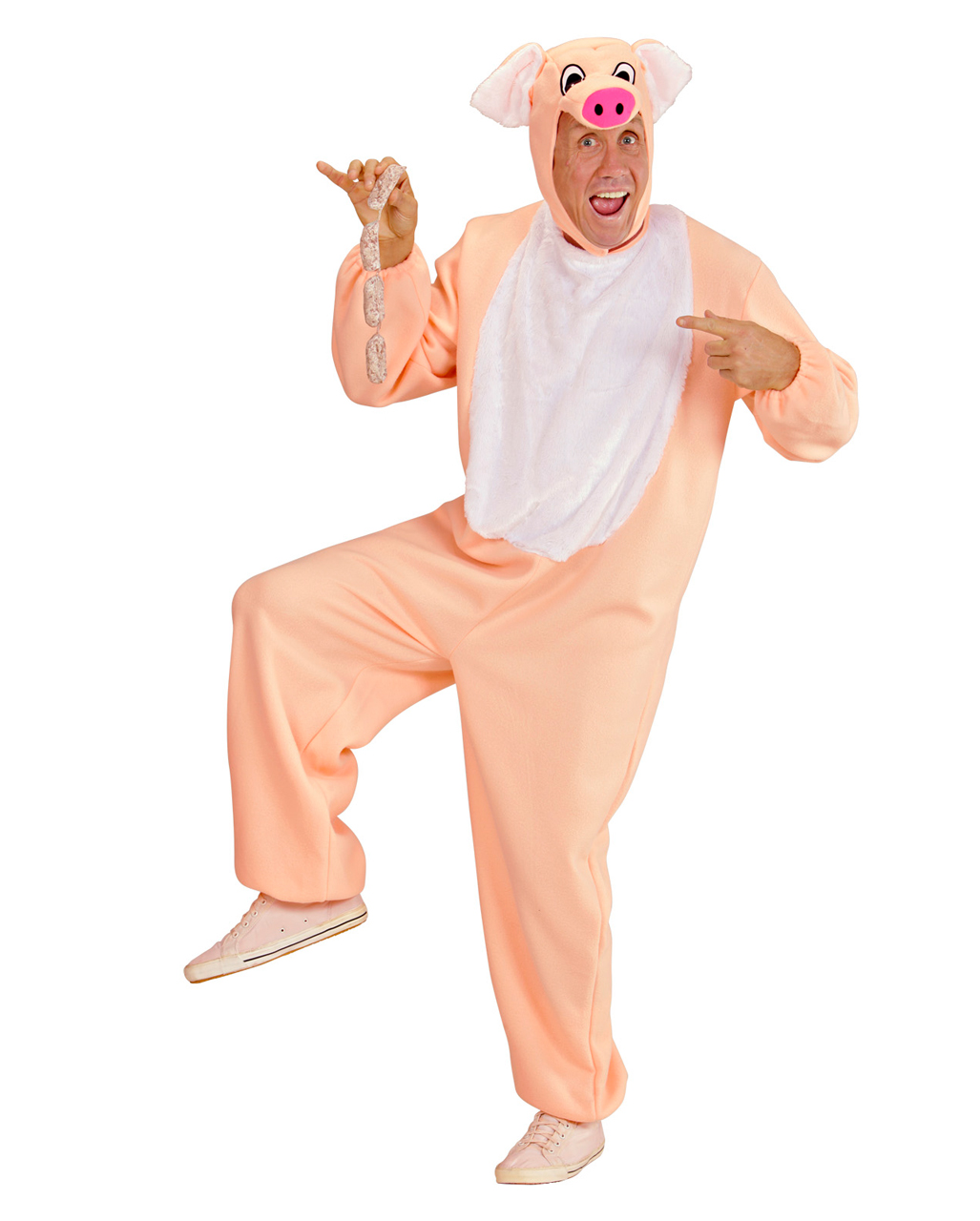 Porky Pig Costume. M | Large selection of funny animal costumes |  horror-shop.com
