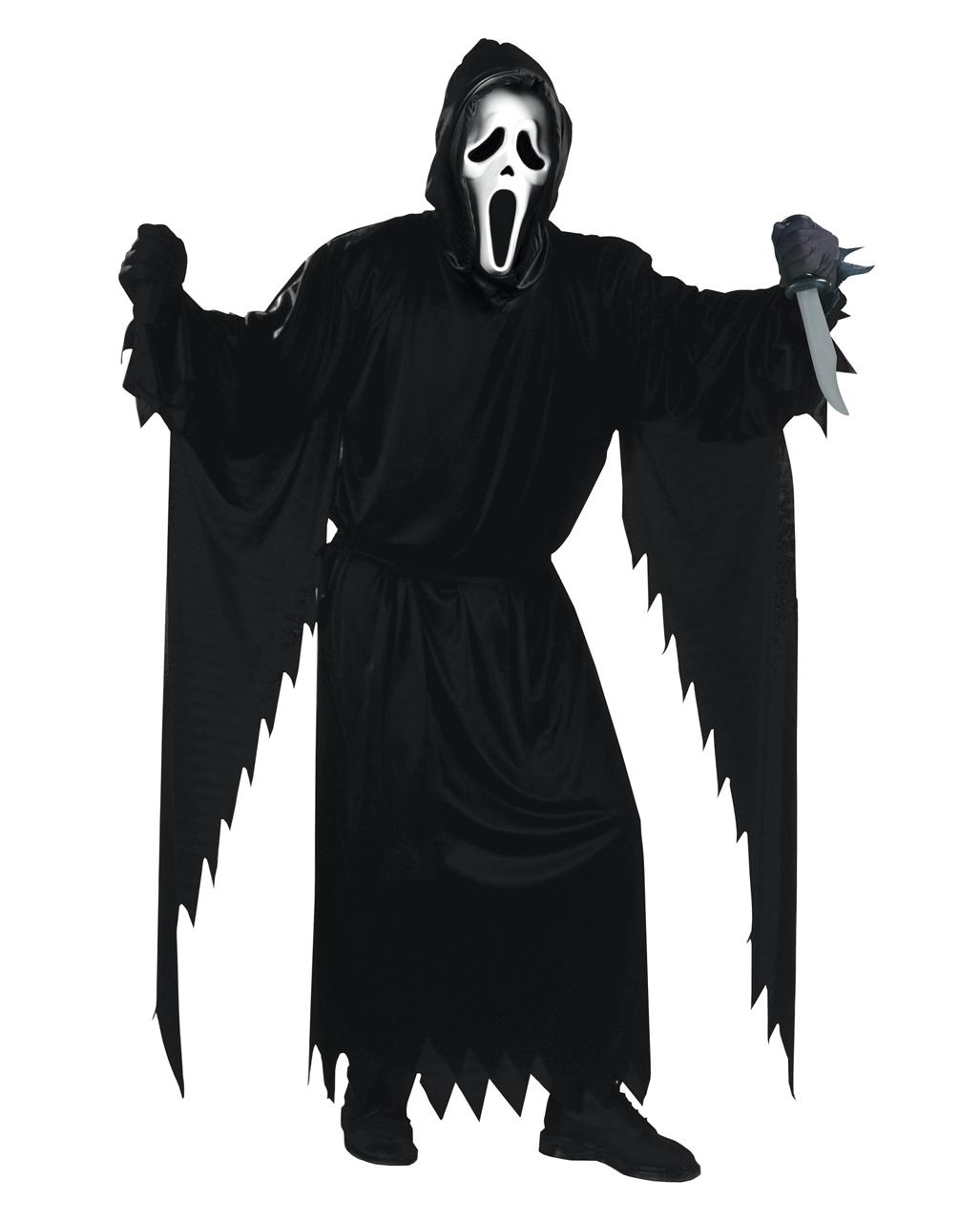 Scream Kostüm Mit Maske Ghost Face Kostüm Horror Shopcom