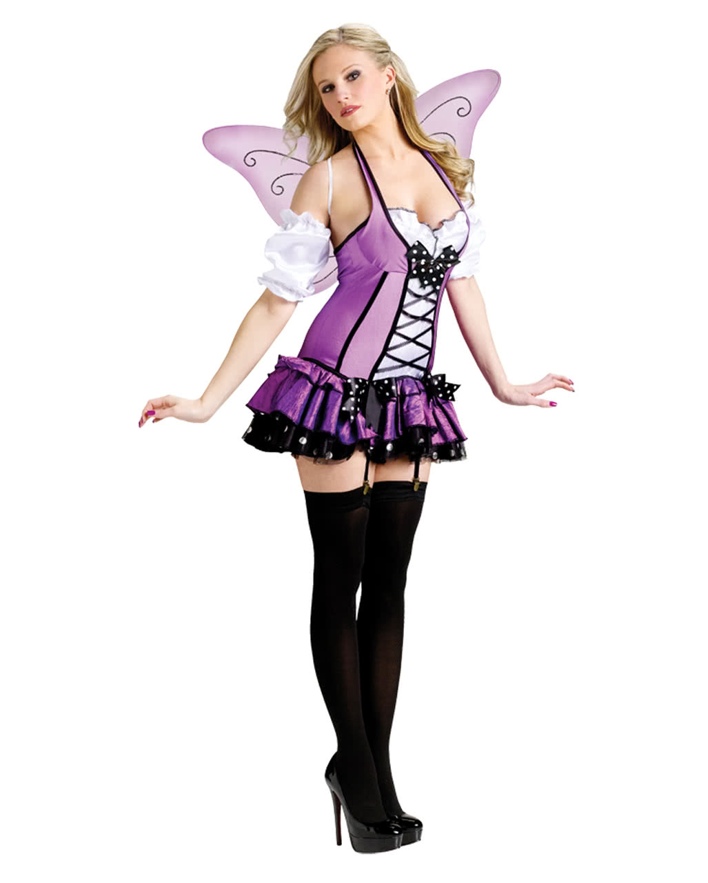 Lila Fee Kostum Sexy Halloween Kostume Horror Shop Com