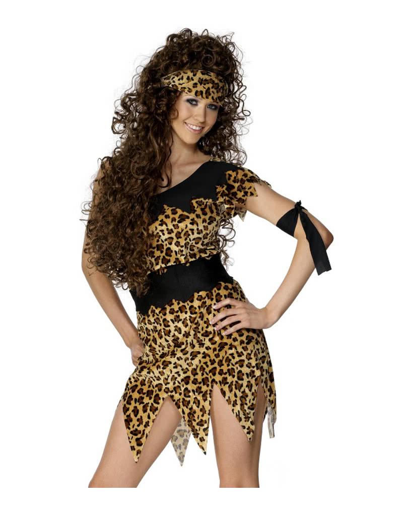 Sexy Steinzeit Frauen Kostum Aufreizendes Hohlenmenschen Outfit