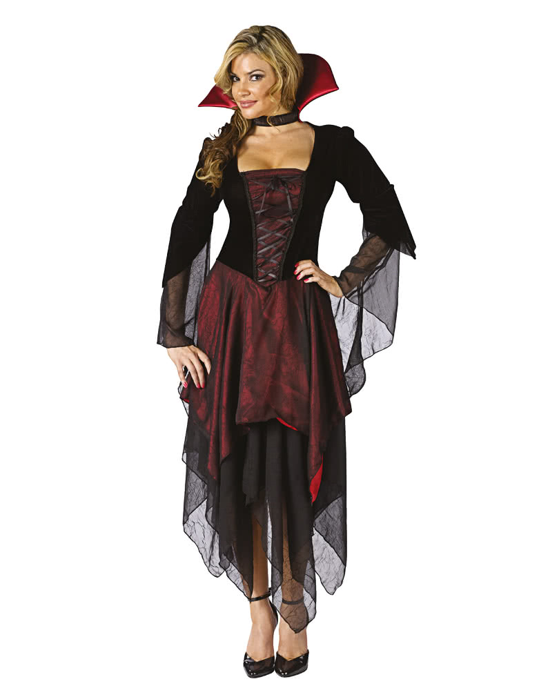 Sexy Vampir Lady Kostum Ml Fur Halloween Horror Shop Com