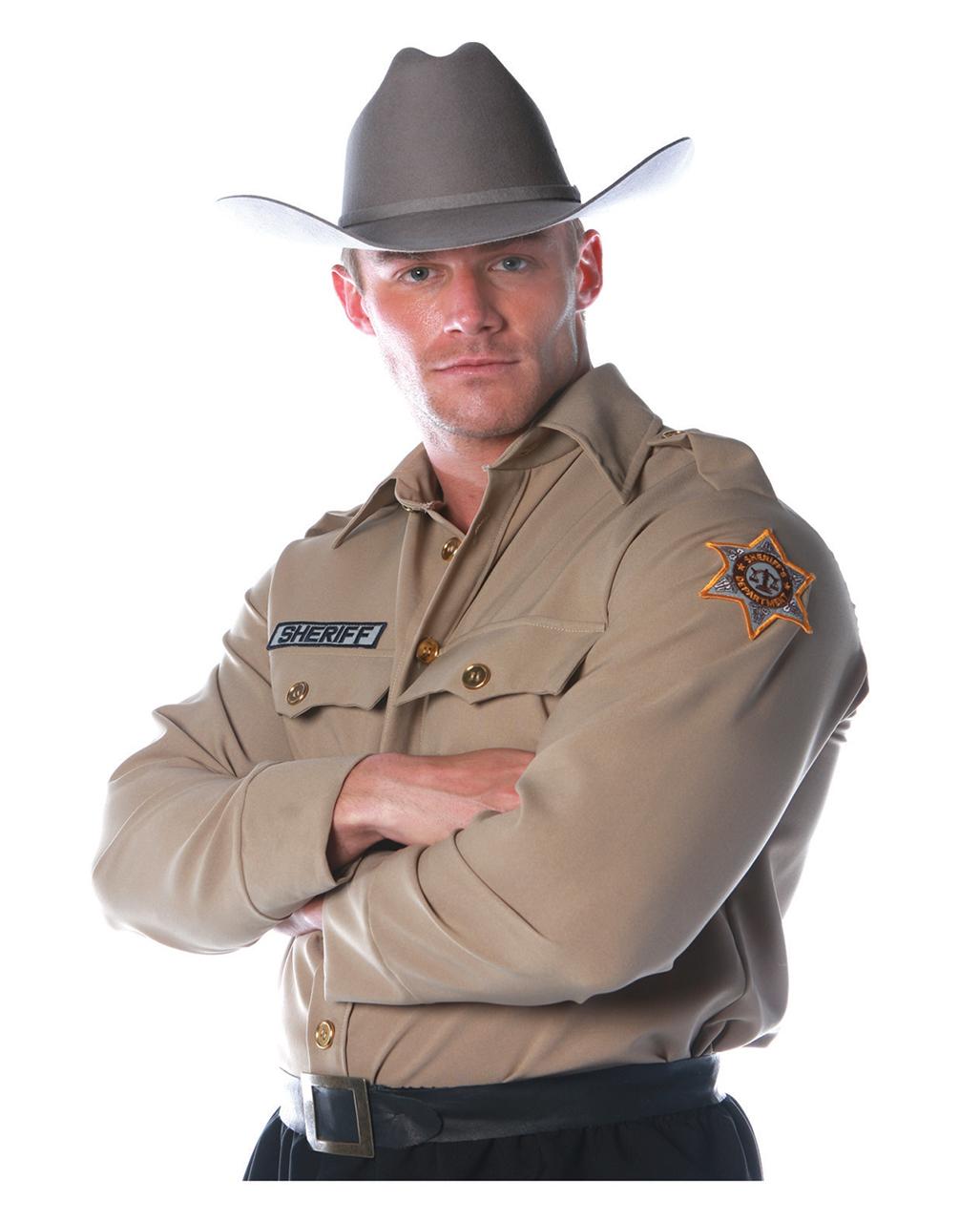 3e5149ebf9326 Sheriff Shirt Costume Size L