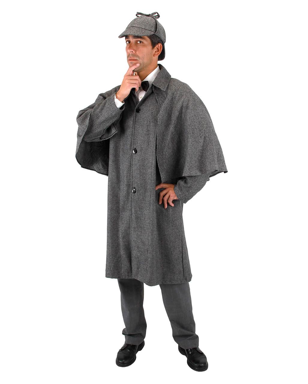 Sherlock Holmes detective costume cloak as Halloween Costume ...