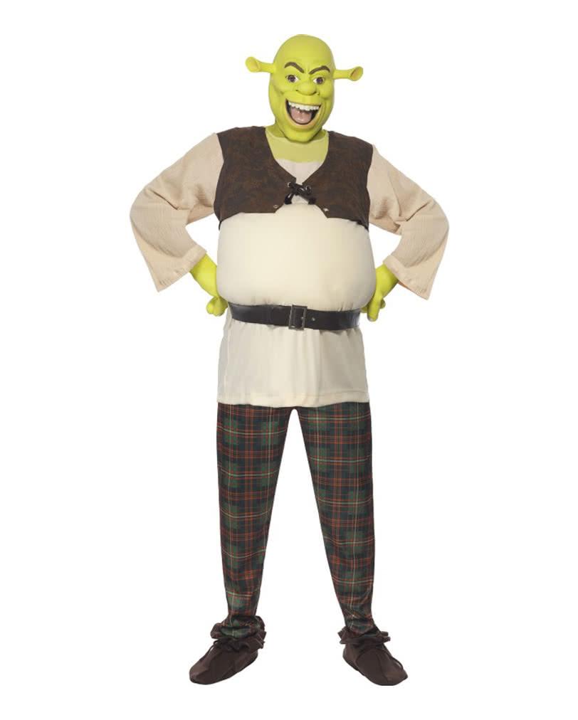 Shrek Costume Deluxe ...  sc 1 st  Horror-Shop.com & Shrek Costume Deluxe | Shrek fairing with mask | horror-shop.com