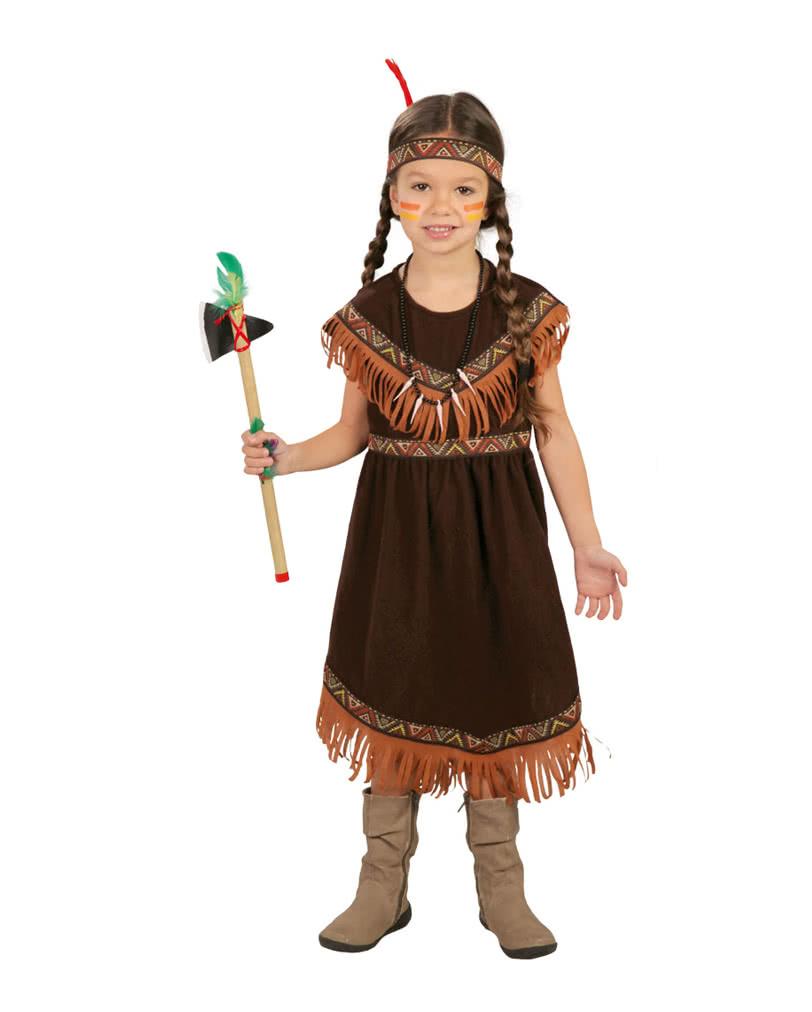 Sioux Indian Child Costume  sc 1 st  Horror-Shop & Sioux Indian Child Costume | Girl costume for Western fans | horror ...