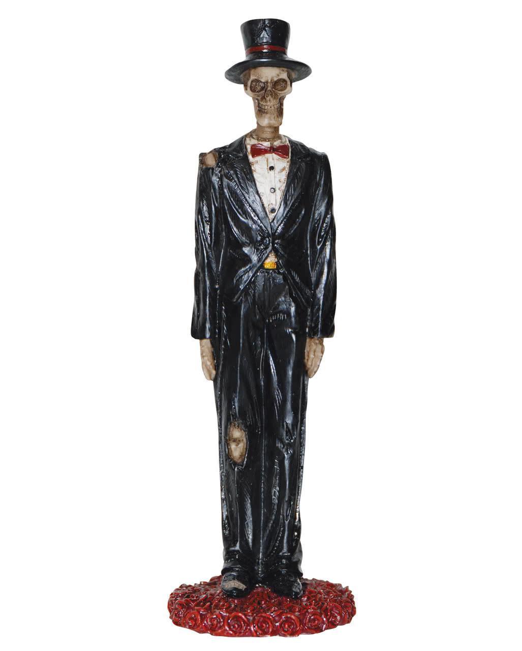Schön Skelett Bräutigam Figur 13 Cm ...