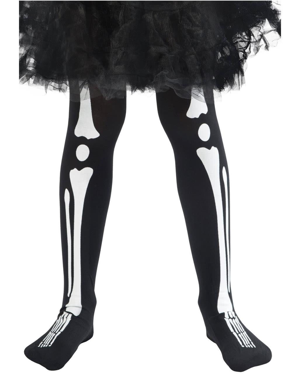 4a4f2864434 Skeleton children s tights
