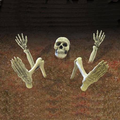 Skelett Dekoration Für Den Garten | Halloween Außendekoration |  Horror Shop.com