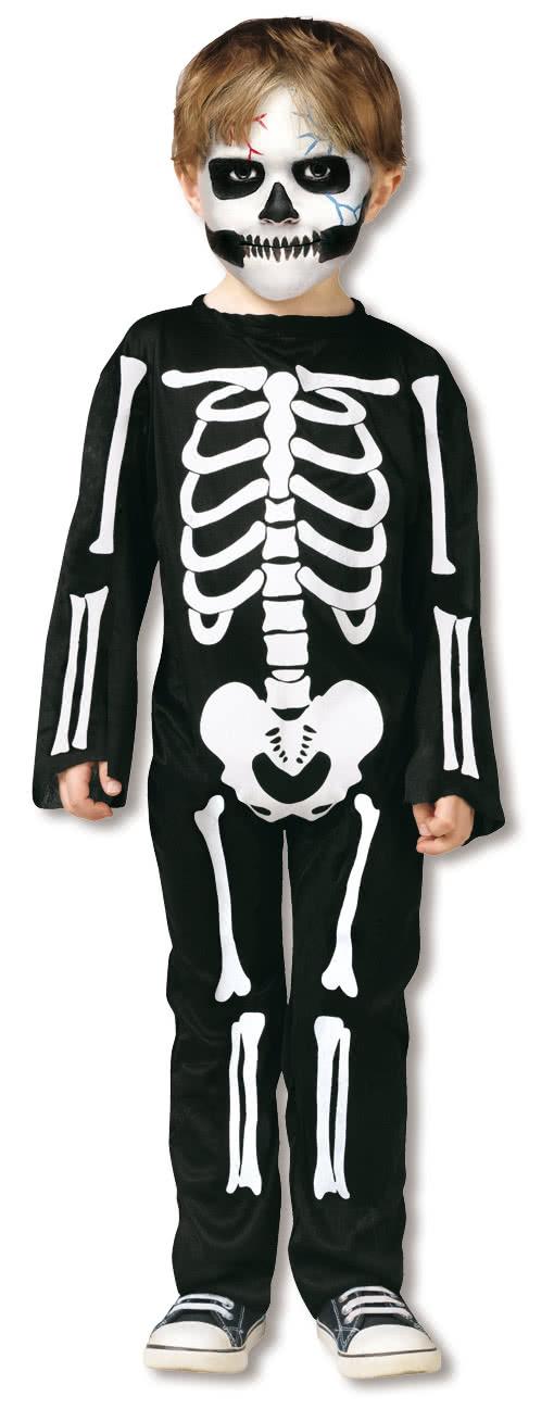 Skeleton Costume Toddlers   Skeleton Halloween costume   horror ...