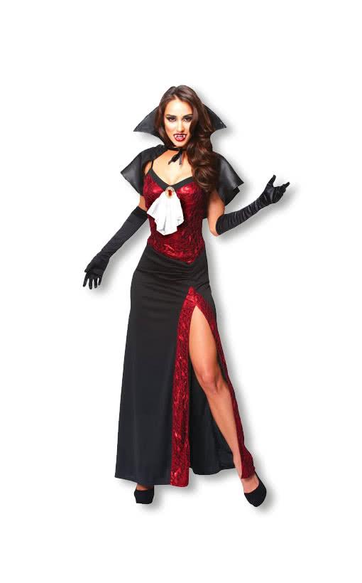Slinky Vampire Kostum Vampirkostume Horror Shop Com