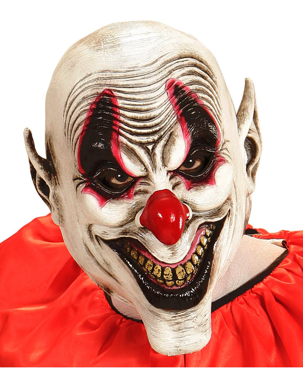 Smile Eyes Clown Mask buy online   horror-shop.com