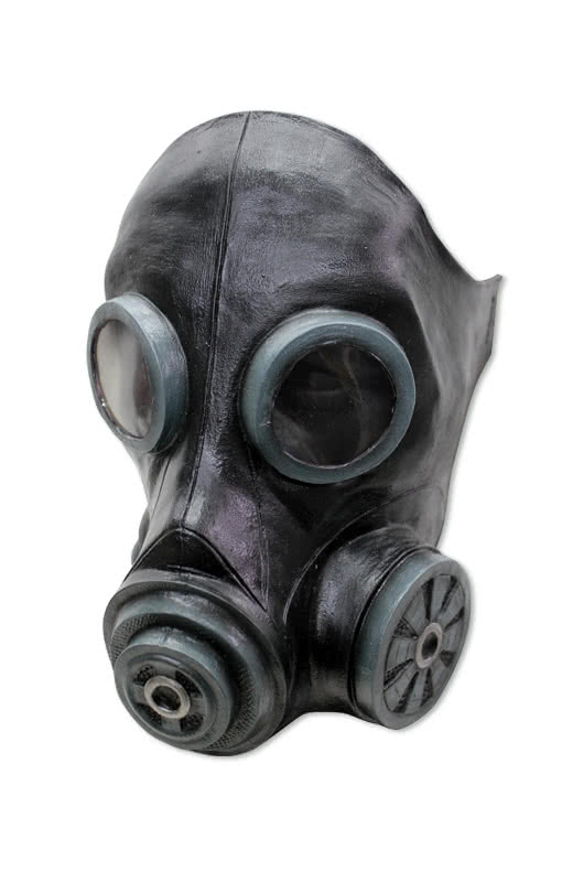 Flue gas mask black cool latex gas mask for the zombie walk flue gas mask black cool latex gas mask for the zombie walk horror shop voltagebd Images