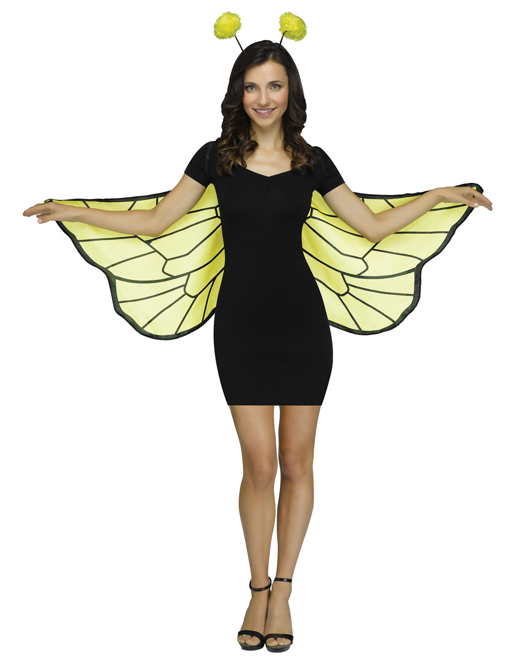 Soft Bee Wing With Feeler As A Costume Horror Shop Com