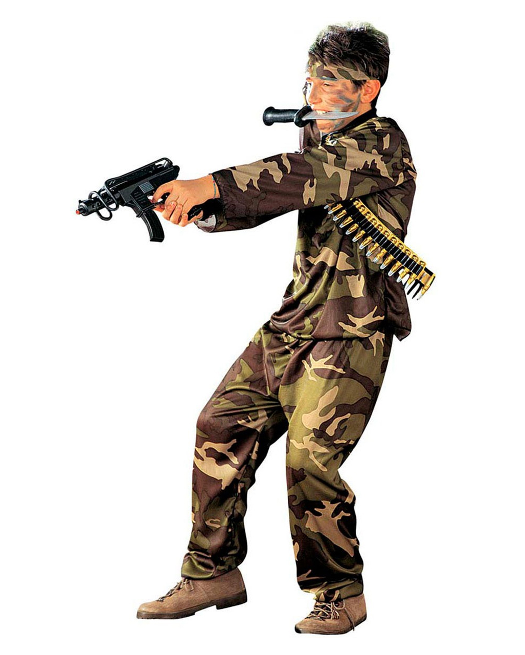 Soldaten Kinder Kostum Uniform Tarnanzug Horror Shop Com