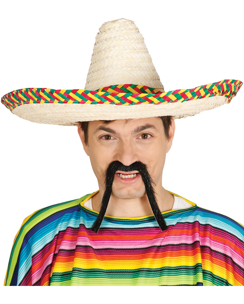 Sombrero With Colorful Border  cace660aa7e3