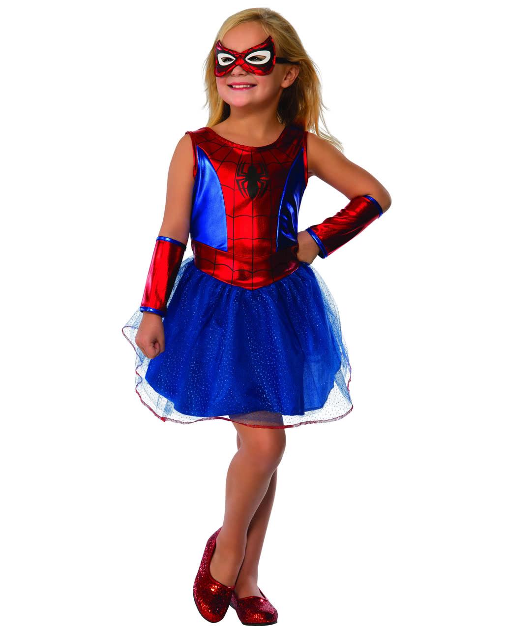Spider-Girl Tutu Kleid für Mädchen kaufen | Horror-Shop.com