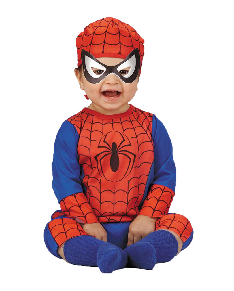 Spiderman Baby Costume 12 to 18 months  sc 1 st  Horror-Shop & Spiderman Baby Costume 12 to 18 months | Spiderman Baby Costume ...