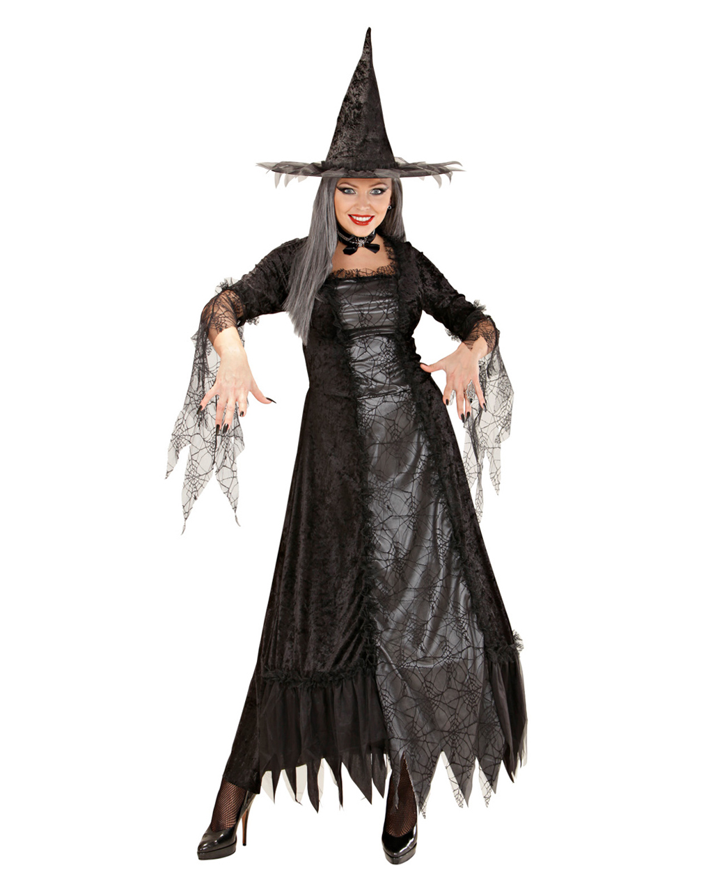 cb5b3740e1c Spider Lady Witch Costume Deluxe XL