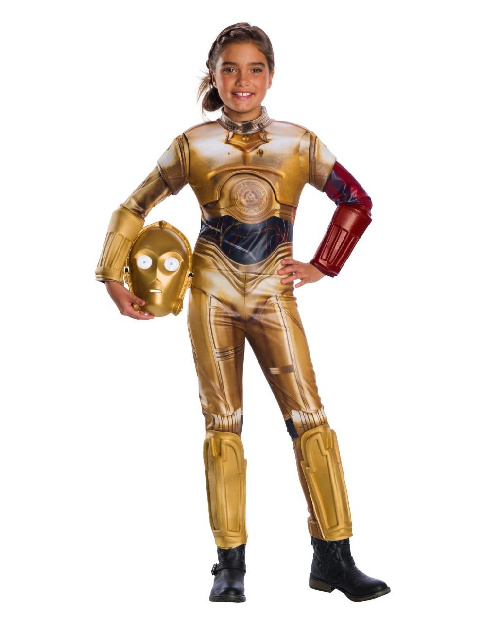 Star Wars C-3PO Kids Costume Deluxe till  23c41fe20ac1