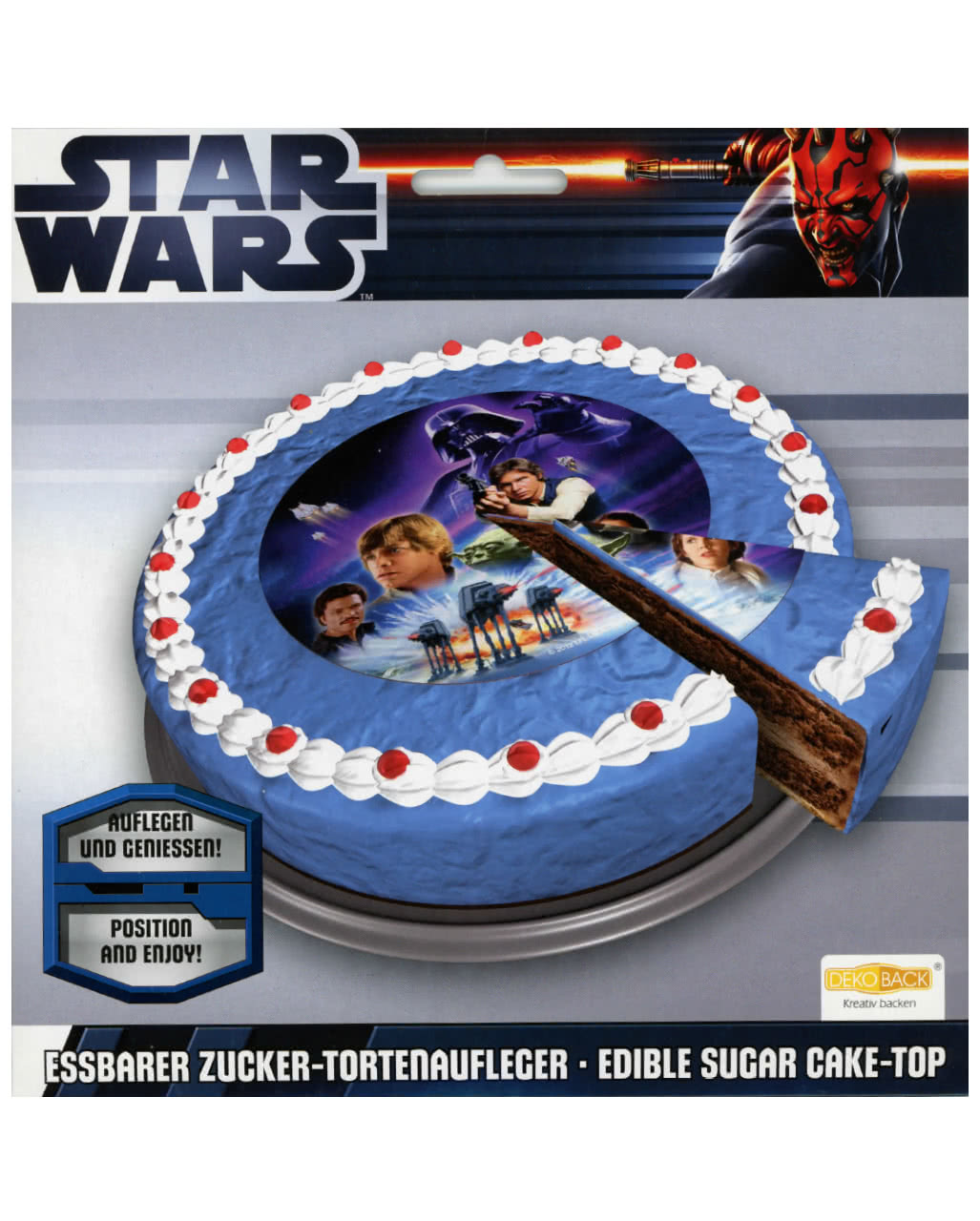 Star Wars Tortenaufleger Horror Shop Com