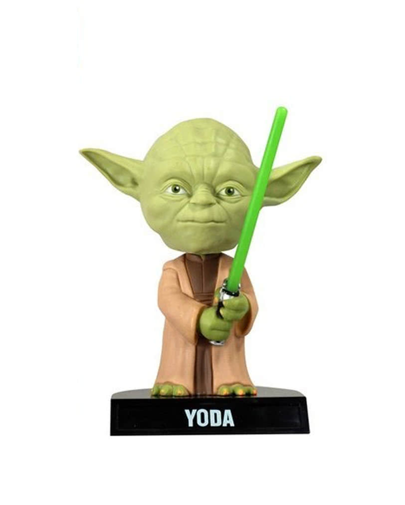Star Wars Yoda Wackelkopf Figur   Krieg der Sterne Wackelkopffigur ...
