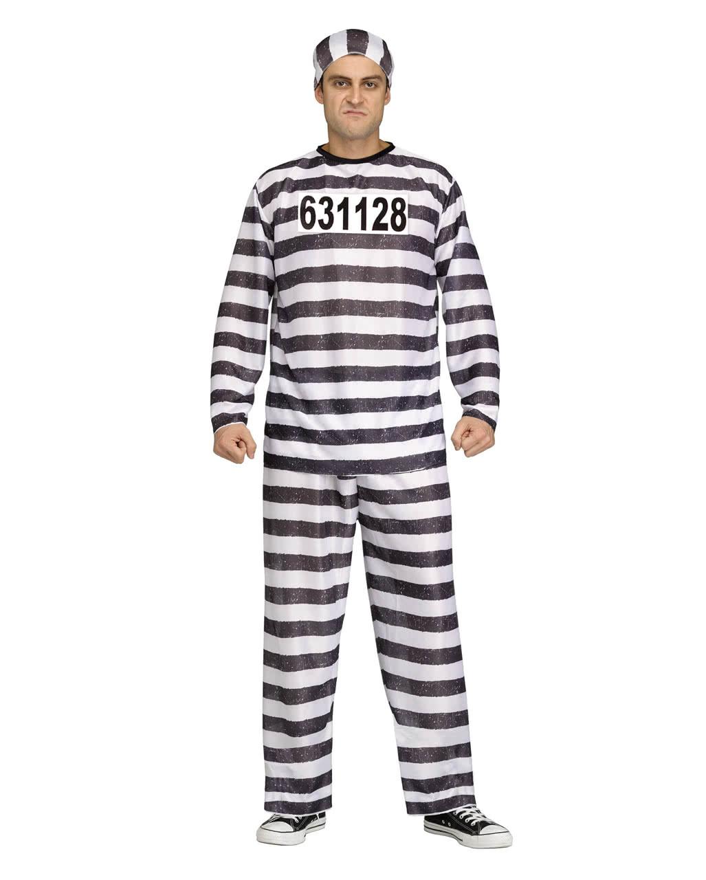 Convict costume jailbird prisoner costume prisoner costume convict costume jailbird solutioingenieria Choice Image