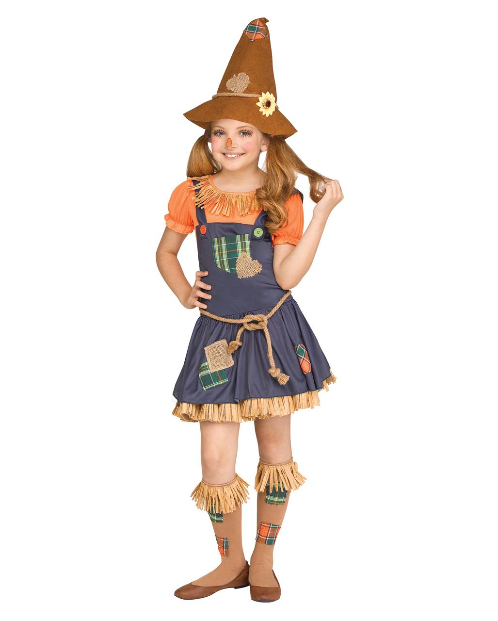 Süße Vogelscheuche Kinder Kostüm Für Fasching Horror Shopcom