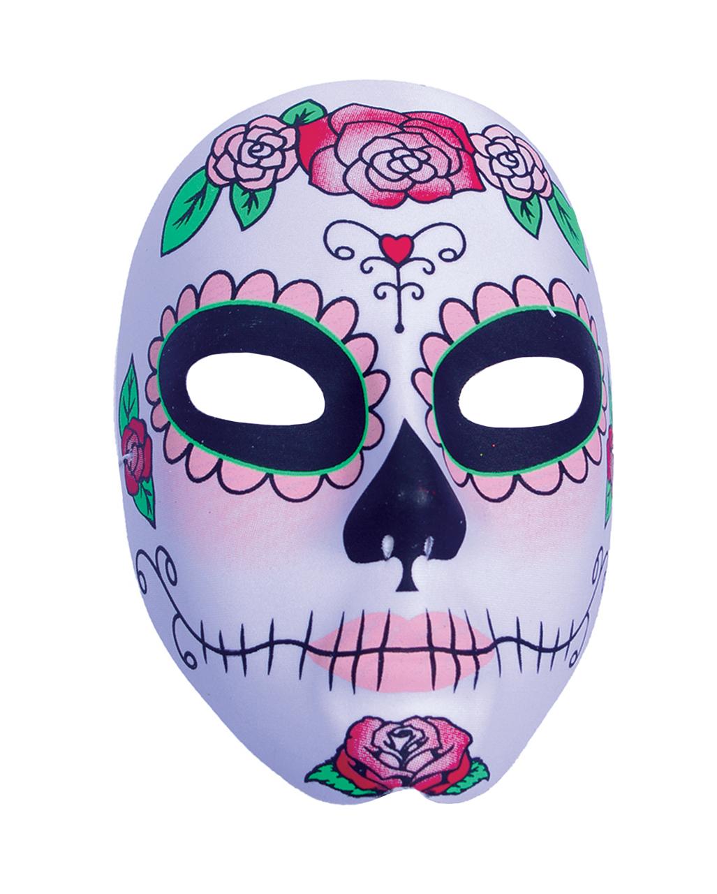 sugar skull catrina mask