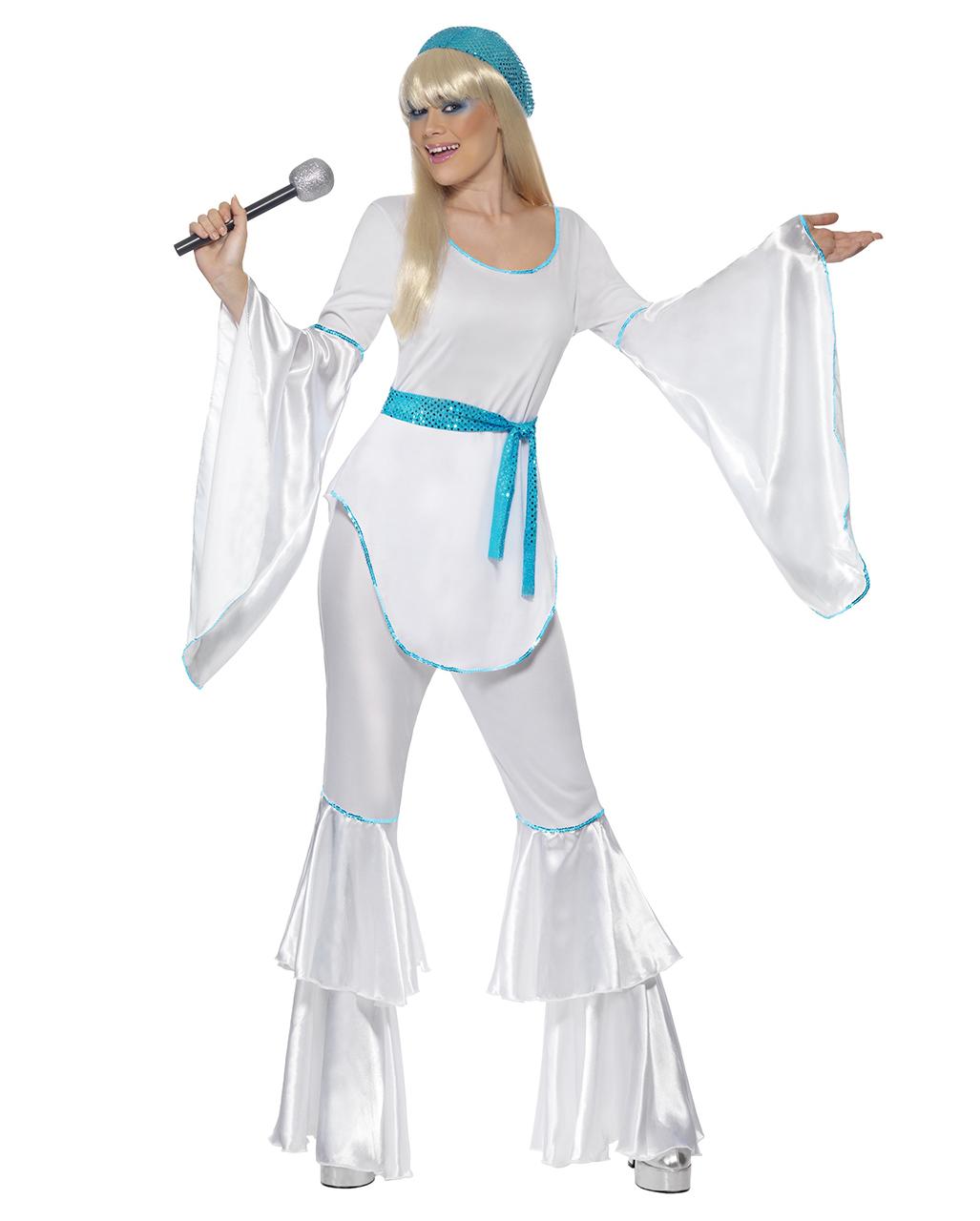 Super Trooper Damen Kostum Dancing Queen Kostum Horror Shop Com
