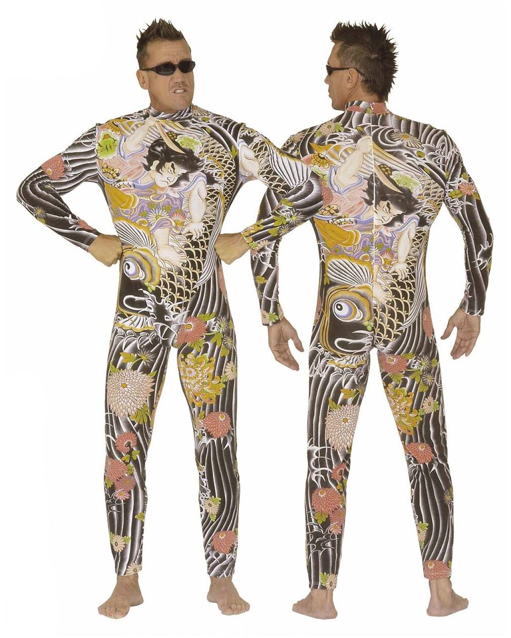 0dfcb3142 Tattoo body suit Skintight Bodysuit with tattoo motif | horror-shop.com