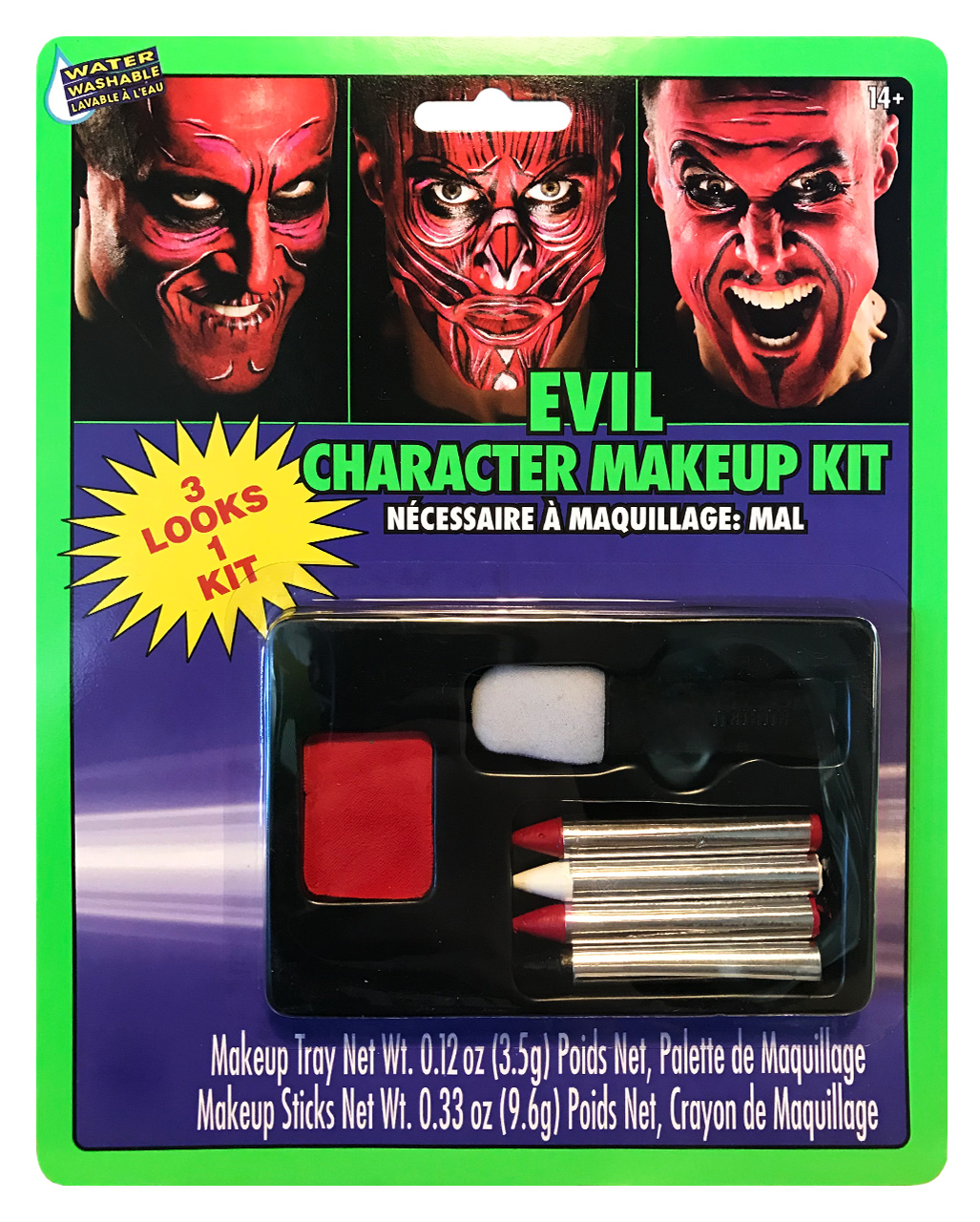 Teufel Make Up Set Als Halloween Schminke Horror Shopcom