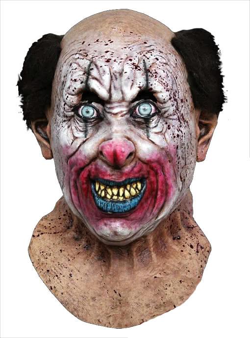 Thriller Clown Mask  sc 1 st  Horror-Shop.com & Thriller Clown Mask Horror Clown Zombie Clown Evil Clown | horror ...