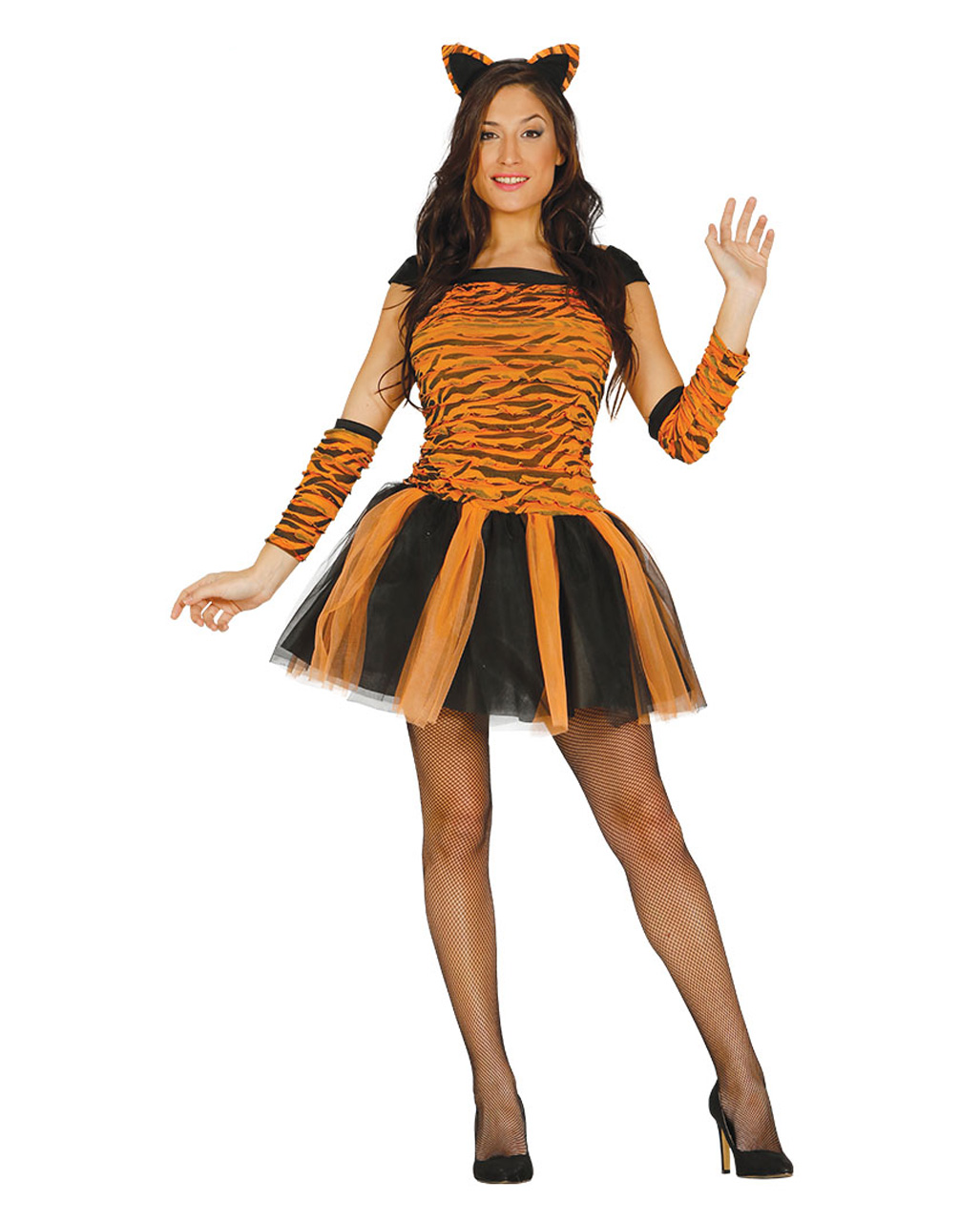 Tiger Costume With Accessories Sexy Carnival Costume Horror