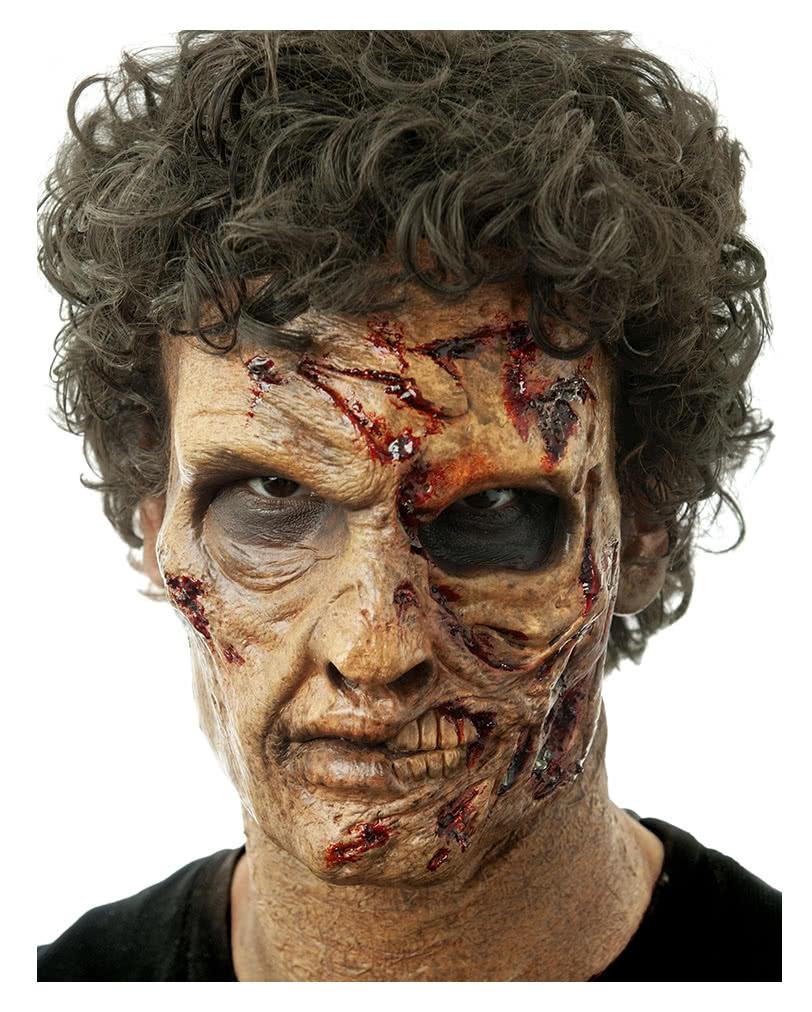 Two face zombie foam latex mask zombie makeup horror shop solutioingenieria Images
