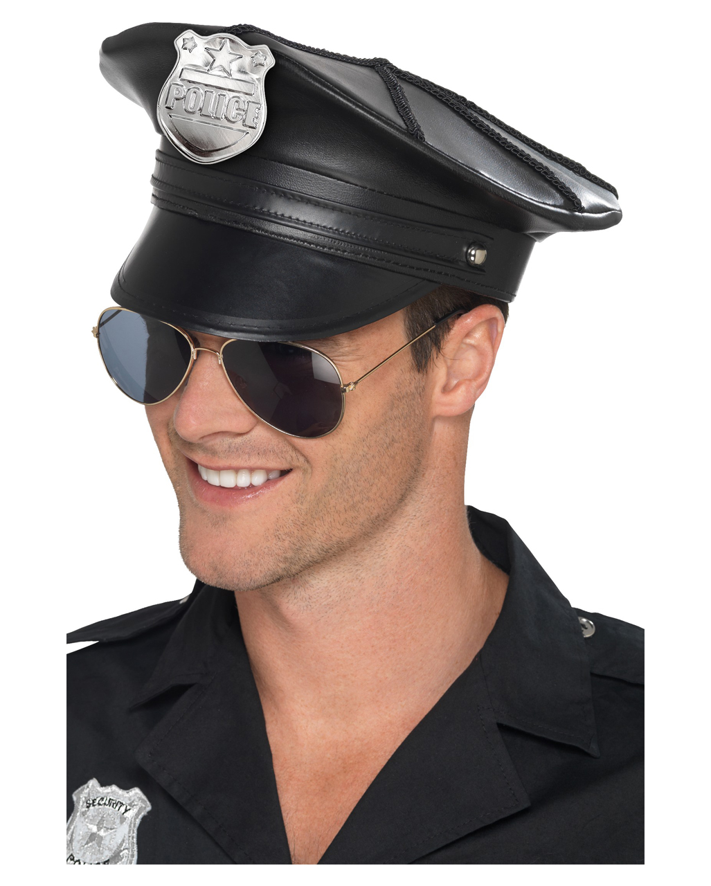 US Police Officer Police Hat as an accessory  04e01ea13ecf