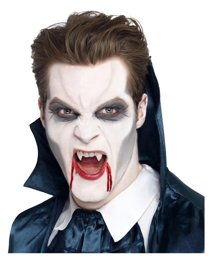 Vampir Make Up 4 Teilig Vampir Schminken Leicht Gemacht Horror