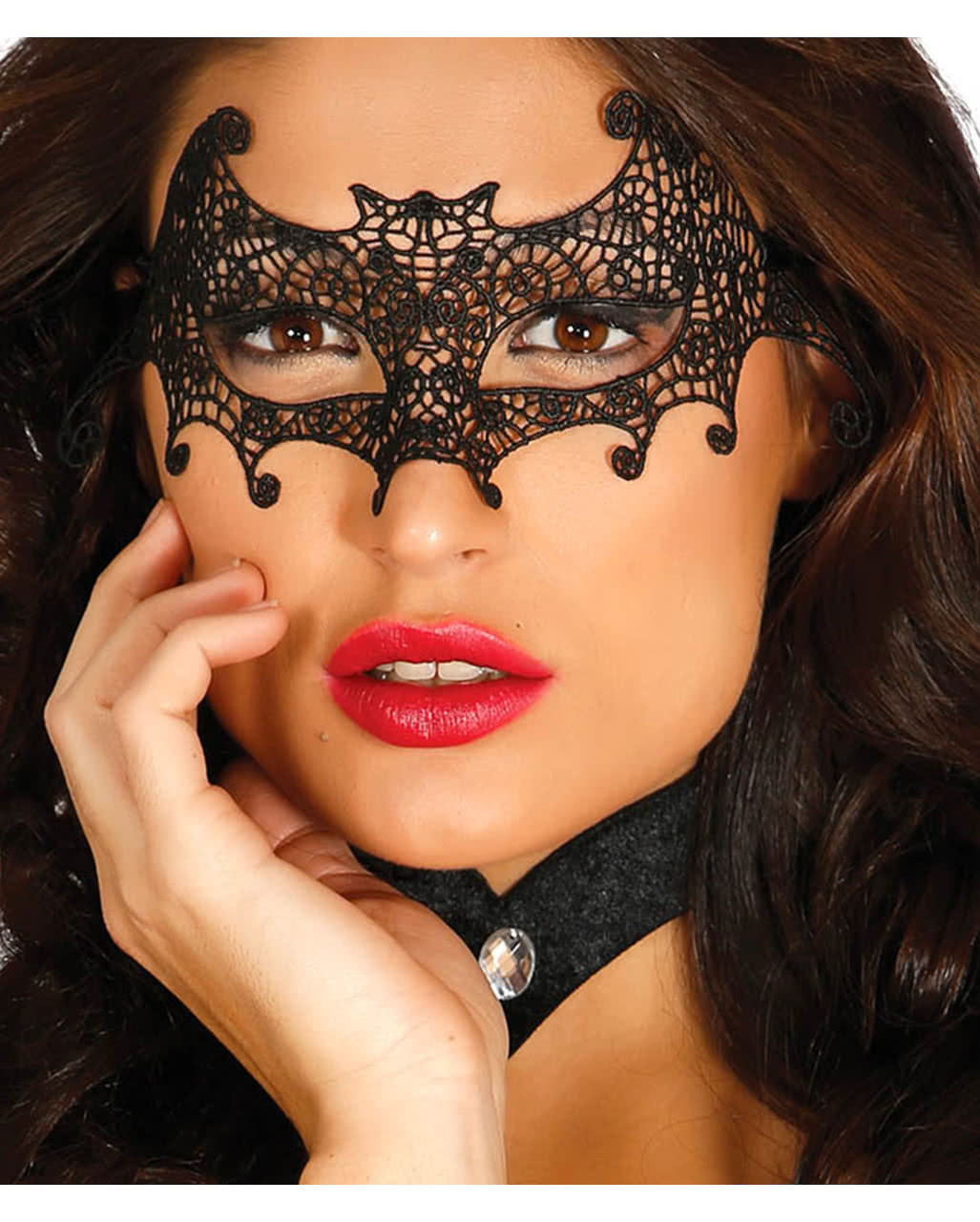 Venetian Mask Bat Fabric Buy Eye Mask Horror Shop Com