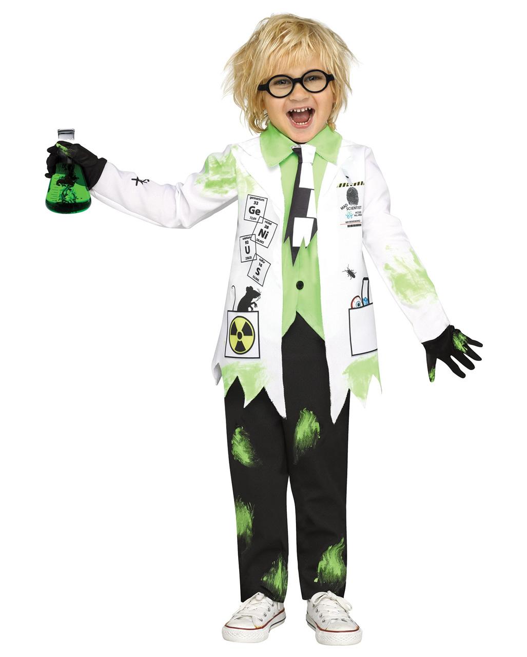 crazy professor toddler costume for halloween | horror-shop