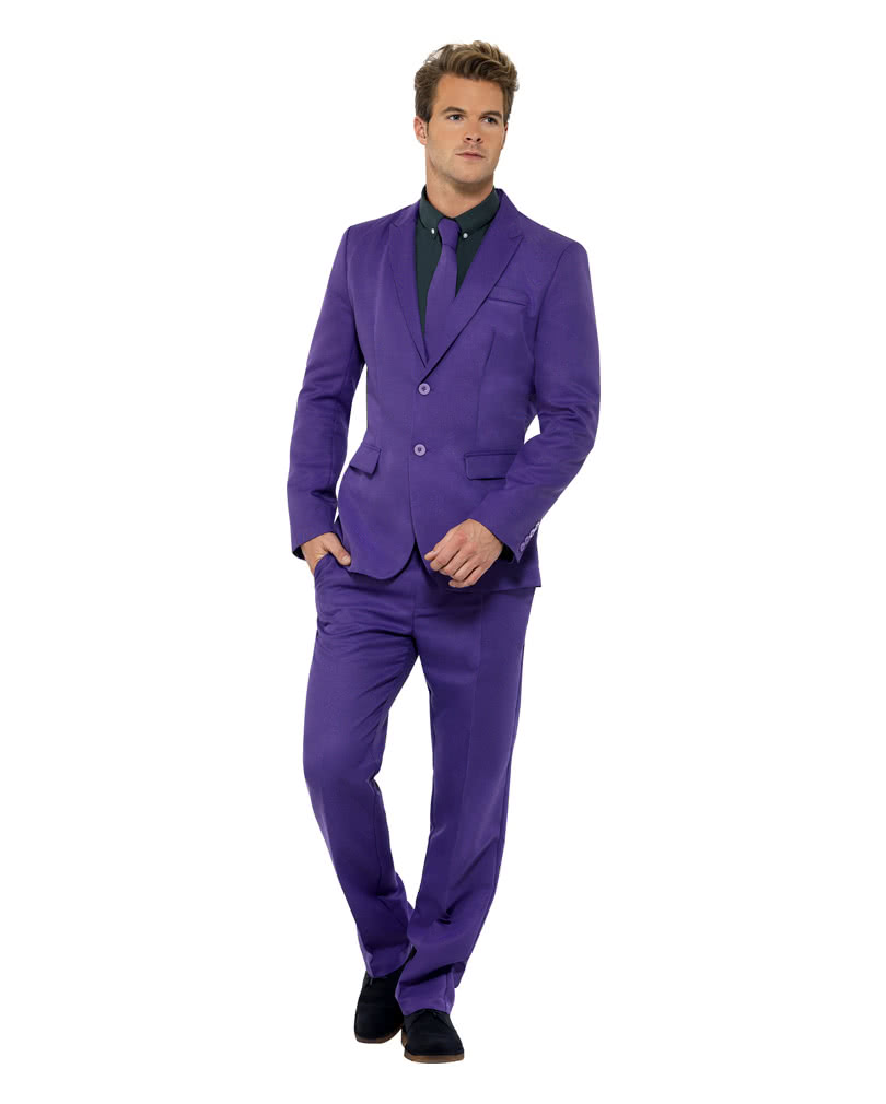 Men`s purple suit | Purple Herrenrobe for theme parties | horror ...